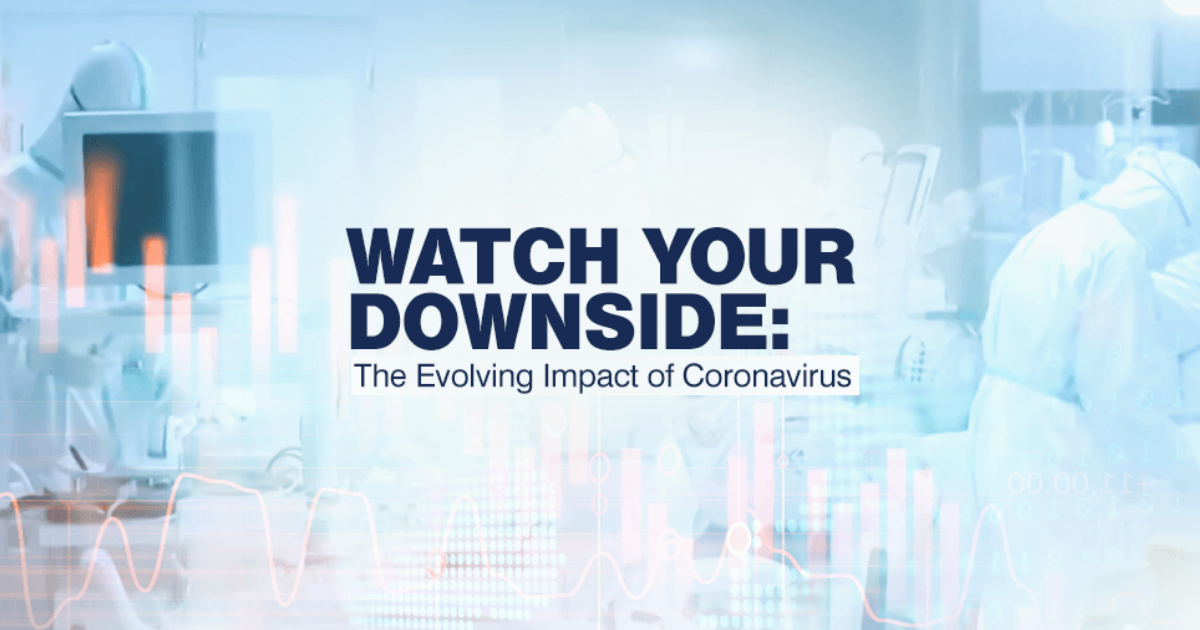 Investors who previously took the coronavirus epidemic in stride are now coming to grips with concerns about its impact on global economic growth and corporate earnings.