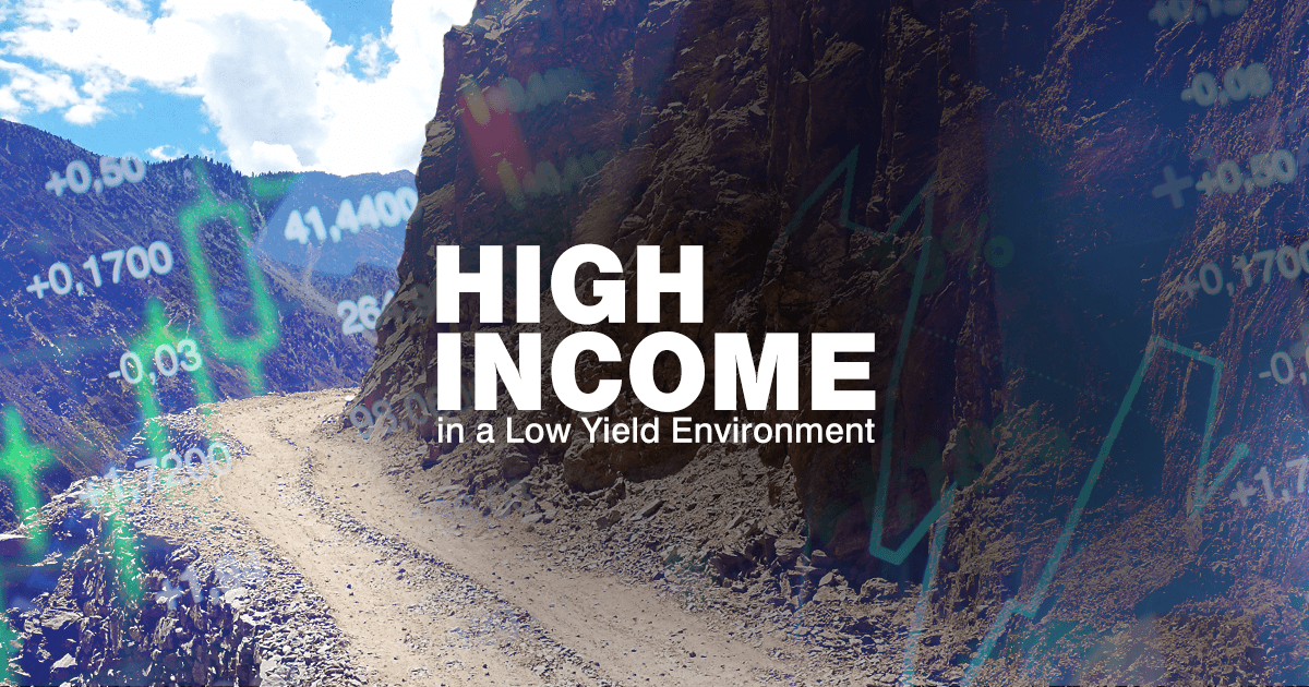 As interest rates edge lower, investors or left looking for new sources of income. Used wisely, we believe high-income bonds may fill that need.