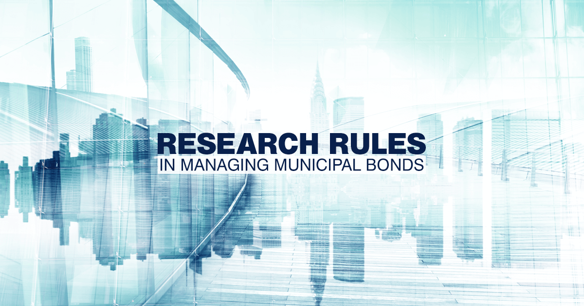 Muni market dynamics underscore the importance of skilled in-depth credit research to uncover opportunities and manage risks.