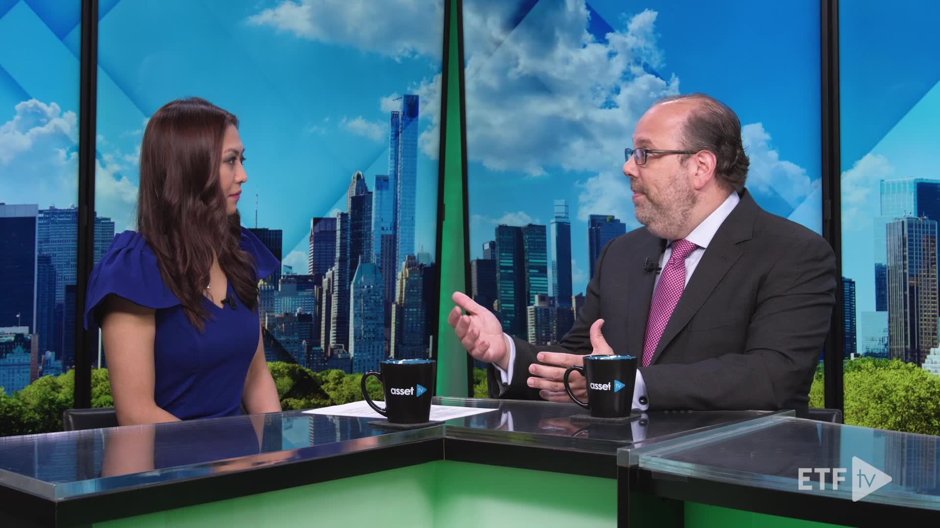 Ed Rosenberg, Senior Vice President and Head of Exchange Traded Funds, American Century Investments talk about about how Semitransparent Active ETFs broaden the range of strategies available in the ETF structure.